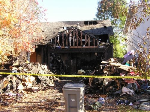 Commercial Building Fire Remediation