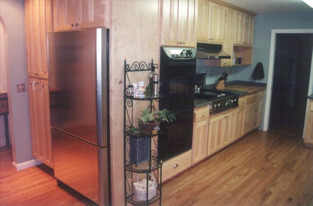 Kitchen reface remodel in Marin