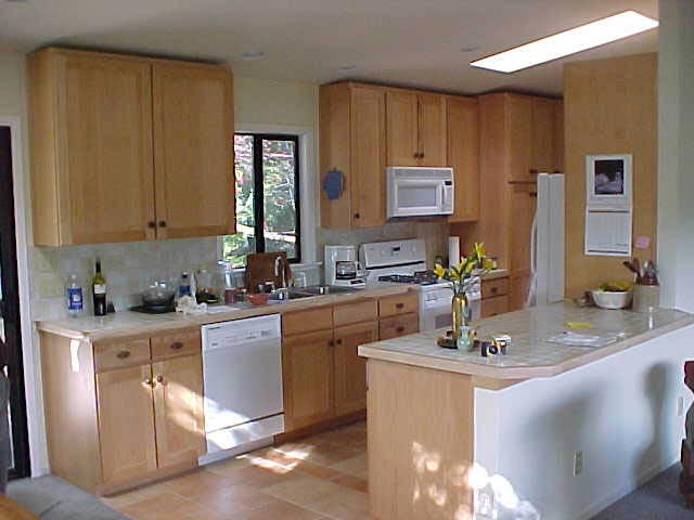 Kitchen Remodel with Vaulted Ceiling in Marin