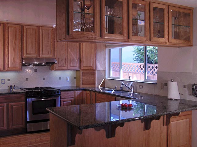 Kraftmaid Remodeled Kitchen in Marin