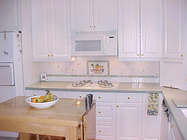 White Kitchen Remodel in Marin