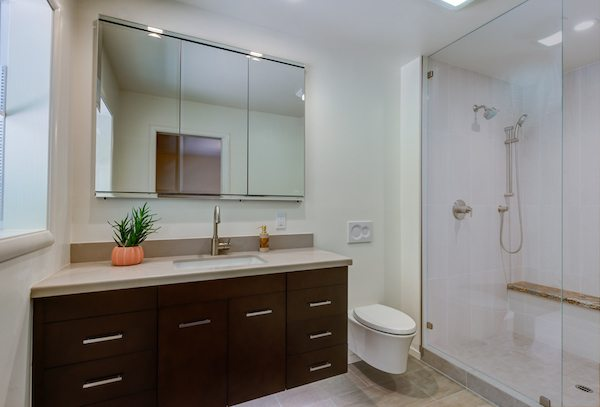 Two Bathroom Remodels, bathroom remodels, remodleing bathroom, bathroom remodels in Marin County, bathroom