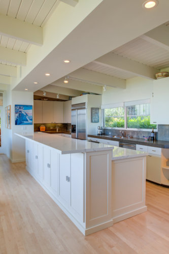 Bright and airy kitchen, Tiburon. Designed by Michelle Slade. View 2